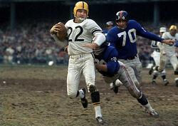 Bobby Layne-Steelers Vs. Giants