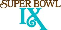 Super Bowl IX Logo