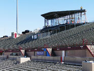 Aggie Memorial Stadium - East Side Stands & Skybox Construction 02