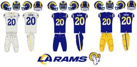 NFL-NFCW-LA Rams 2020 Jerseys