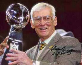 Dan Rooney Super Bowl XL Lombardi Trophy