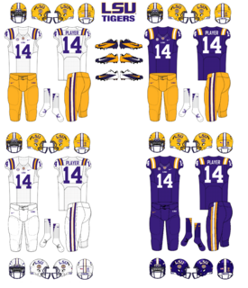 NCAA-SEC-LSU Tigers Uniforms