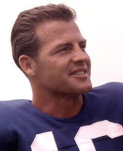 Frank Gifford NY Giants headshot