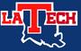 NCAA-C-USA-LA Tech Bulldogs blue logo