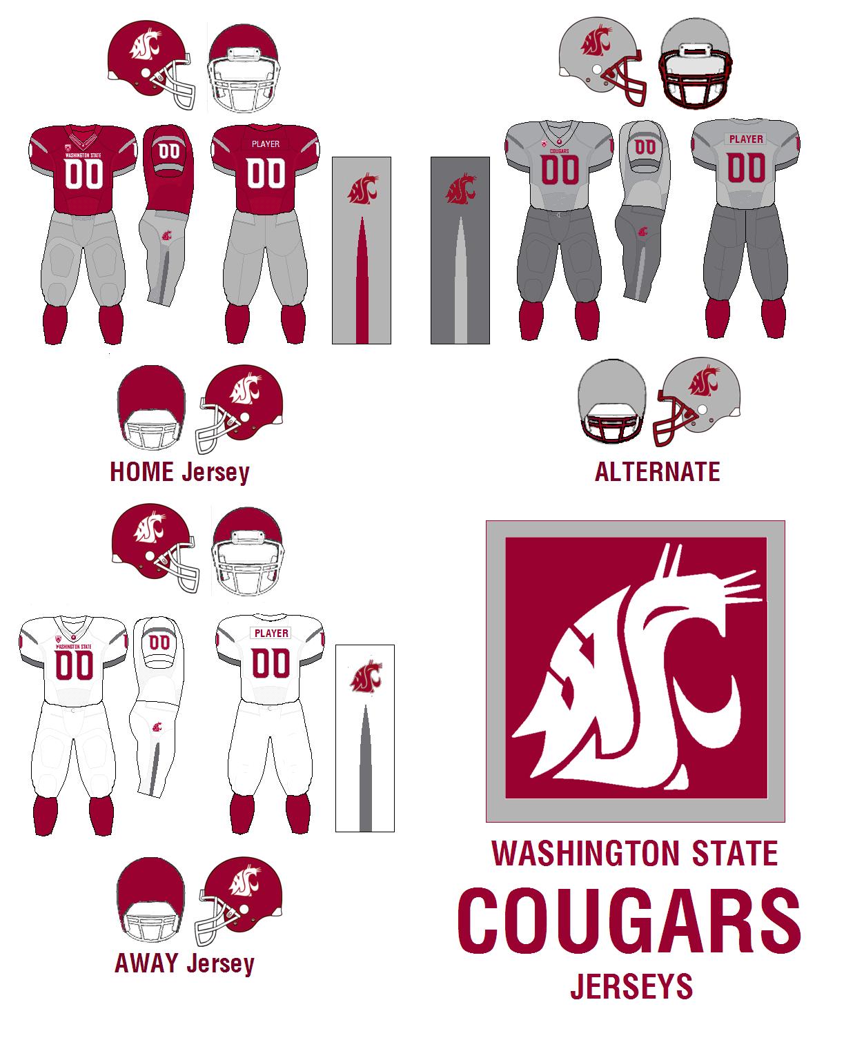 new concept 608b8 428c5 Washington State Cougars   American Football Wiki   FANDOM ...