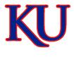 NCAA-Big 12-Kansas Jayhawks White background KU logo