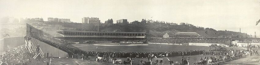 Polo grounds panorama