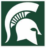 NCAA-Big 10-Michigan State Spartans logo