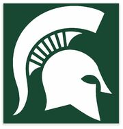 NCAA-Big 10-Michigan State Spartans logo