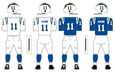 800px NFL AFC Throwback Uniform LA Chargers 1960