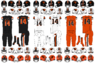 NCAA-PAC12-Oregon State Beavers uniforms
