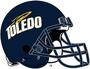 NCAA-MAC-Toledo Rockets-Helmet-2000s