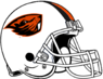 NCAA-PAC12-Oregon State Beavers white helmet-white facemask-right side (2)