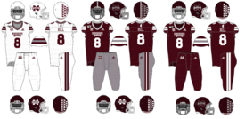NCAA-SEC-2019 Miss State Football Uniforms