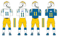 800px NFL AFC Throwback Uniform SD 1973