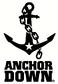 Anchor Down White logo