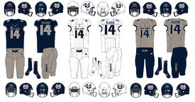 NCAA-MWC-Utah State Aggies uniforms