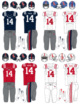 NCAA-SEC-Uniform-Ole Miss Rebels Uniforms