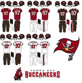 NFL-NFCS-2020 Tampa Bay Bucs Uniforms