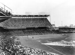 Kansas City Municipal Stadium 1955