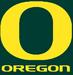 NCAA-Pac-12-Oregon Ducks Green Background logo & script