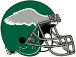 NFL NFC-Helmet-PHI-1974-1996