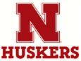NCAA-Big 10-Nebraska Cornhuskers N Huskers alternate logo