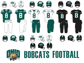 NCAA-MAC-Ohio Bobcats Uniforms