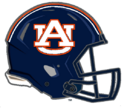 Auburn Tigers Alternate Blue Helmet-NCAA Division I