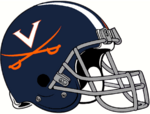 NCAA-ACC-2019 Virginia Cavs helmet