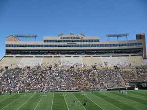 Folsom Field club and suite level 2007