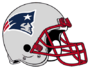 New England Patriots helmet rightface