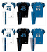 NCAA-AAC-M=2017 Memphis Tigers Jerseys