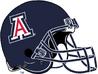 NCAA-Pac-12-2004-2016 Arizona Wildcats blue helmet