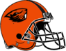 NCAA-PAC12-Oregon State Beavers helmet-orange