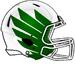 NCAA-Pac-12-Oregon Ducks 2018 White-Green Helmet
