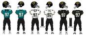 1998-2004-2008 Jaguars Jerseys