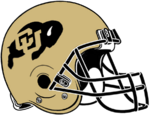 NCAA-Colorado Buffaloes Helmet