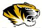 NCAA-SEC-Mizzou Tigers helmet mascot logo