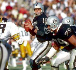 Jim Plunkett 1984 Steelers vs Raiders