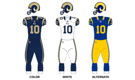 St louis rams uniforms12