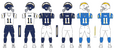 1200px NFL AFC Throwback Uniform LA Chargers 2004