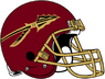 NCAA-ACC-Florida State Seminoles Garnet helmet