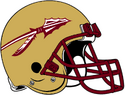NCAA-ACC-Florida State Seminoles Gold helmet