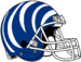 NCAA-AAC-Memphis Tigers blue white bengal Striped helmet