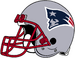 NFL-AFC-NE-Pats Helmet right side