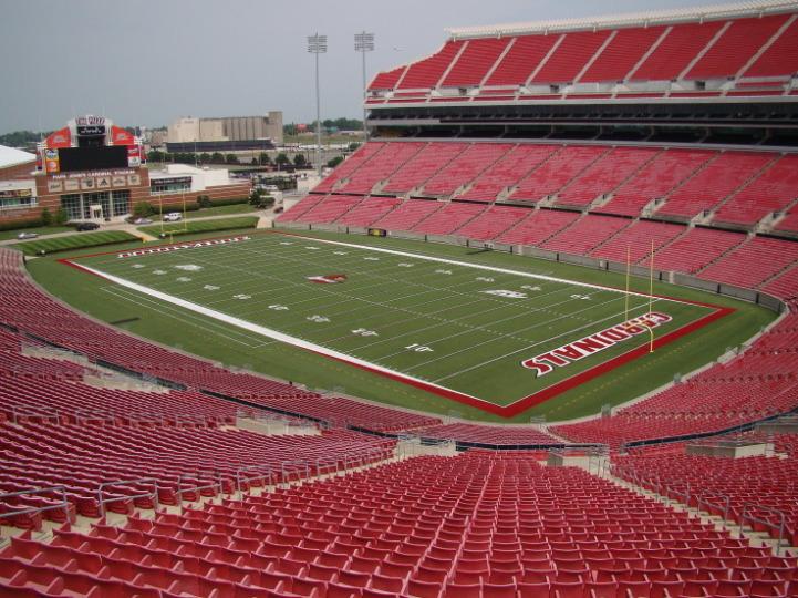 Cardinal Stadium American Football Wiki Fandom Powered By Wikia