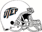 NCAA-C-USA-UTEP Miners White Helmet & facemask