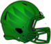 NCAA-Pac-12-Oregon Ducks 2018 Green Helmet