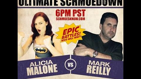 (Round 1 2014 ULTIMATE SCHMOEDOWN) Mark Reilly vs. Alicia Malone